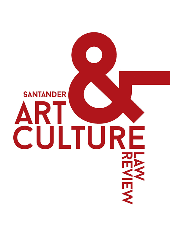 Santander Art and Culture Law Review Cover Image