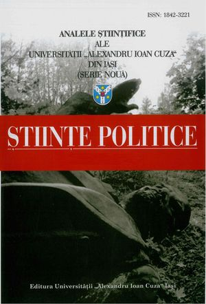 Scientific Annals of the Alexandru Ioan Cuza University of Iasi - Political science Cover Image