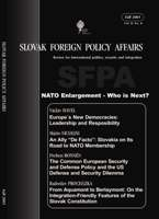 Slovak Foreign Policy Affairs Cover Image