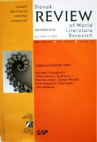 Slovak Review of World Literature Research