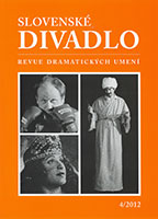 Slovak Theatre Cover Image
