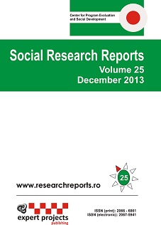 Social Research Reports Cover Image
