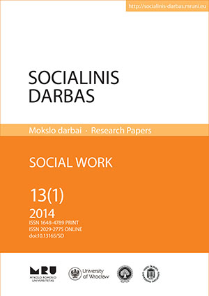 Social Work Cover Image