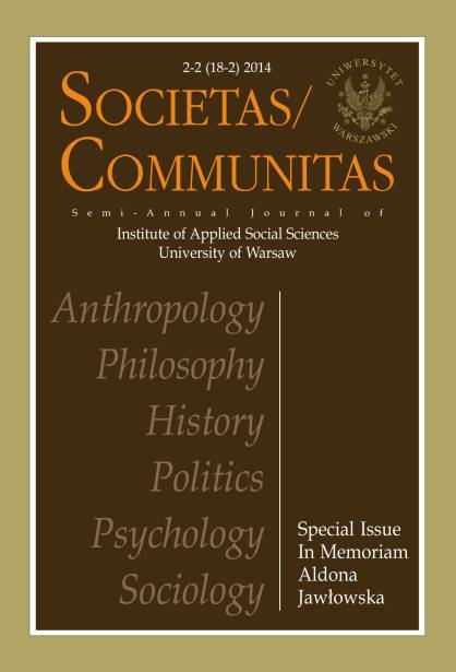 Societas/Communitas Cover Image