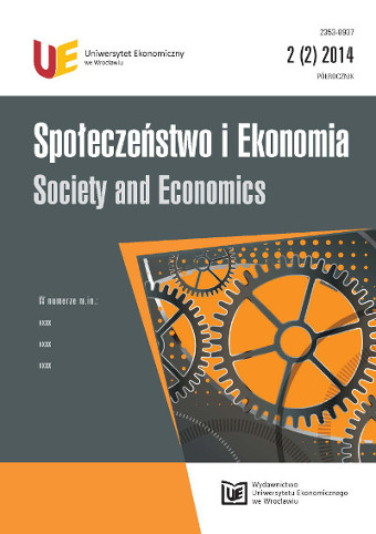 Society and Economics Cover Image