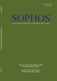 Sophos - A Young Researchers Journal Cover Image