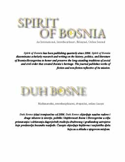 Spirit of Bosnia Cover Image