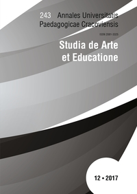 Studia de Arte et Educatione Cover Image