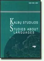 Studies About Languages Cover Image
