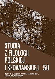 Studies in the Polish and Slavic Philology Cover Image