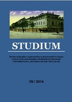 Studium - The Journal of BA, MA and PhD Students in History Cover Image
