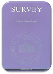SURVEY - Periodical for Social Studies Cover Image
