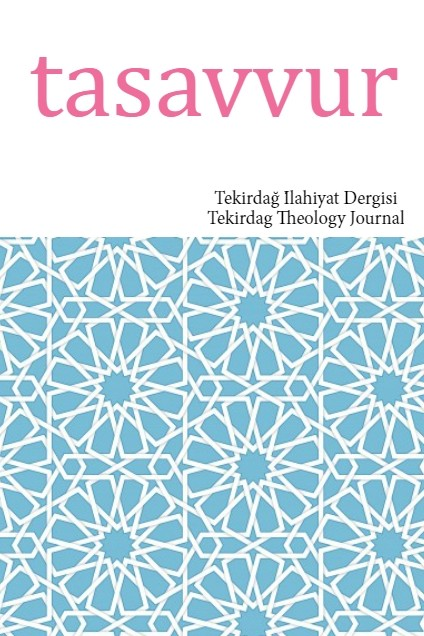 Tasavvur / Tekirdag Theology Journal Cover Image