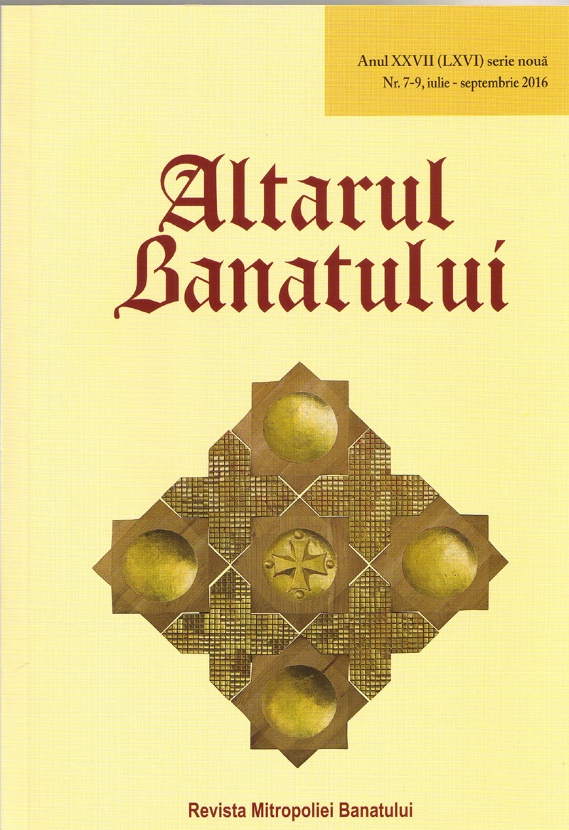 The Altar of Banat Cover Image