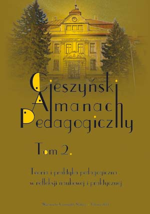 The Cieszyn Pedagogical Almanach Cover Image