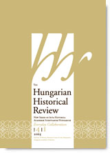 The Hungarian historical review : new series of Acta Historica Academiae Scientiarum Hungaricae Cover Image