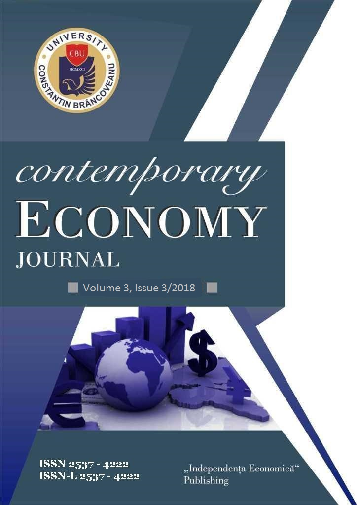 THE JOURNAL CONTEMPORARY ECONOMY Cover Image