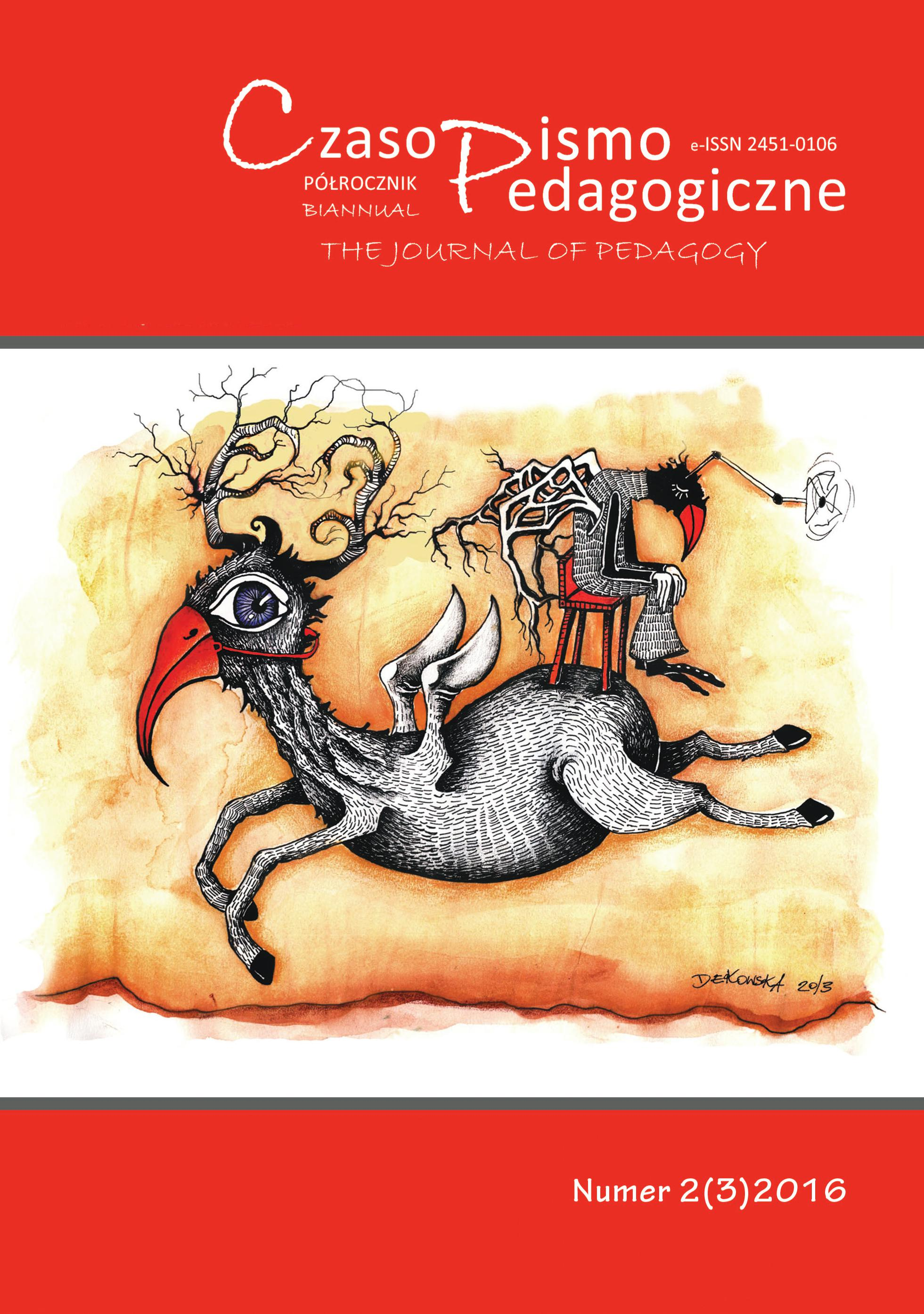 The Journal of Pedagogy Cover Image