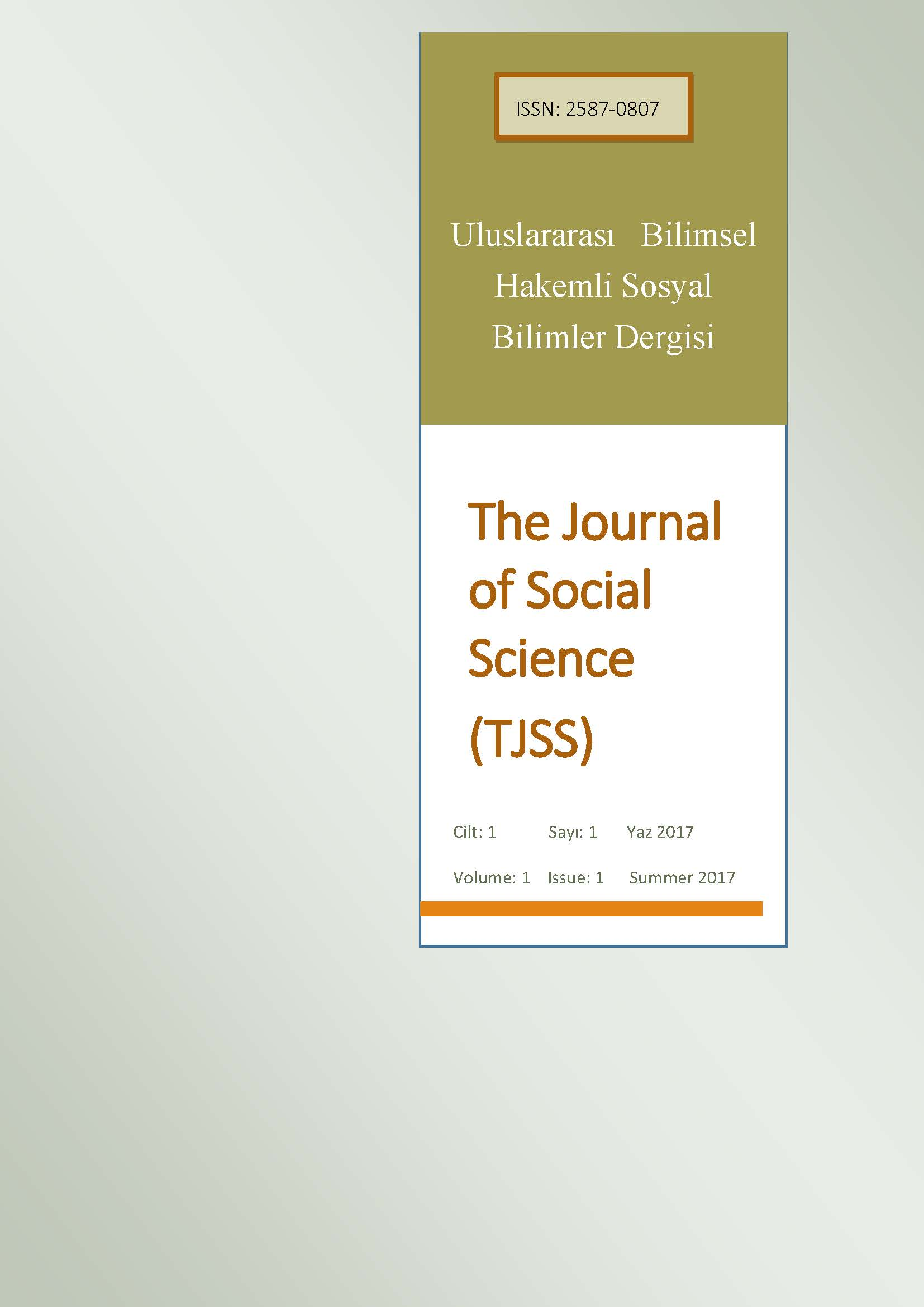 The Journal of Social Science Cover Image
