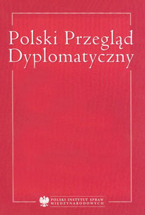 The Polish Diplomatic Review Cover Image