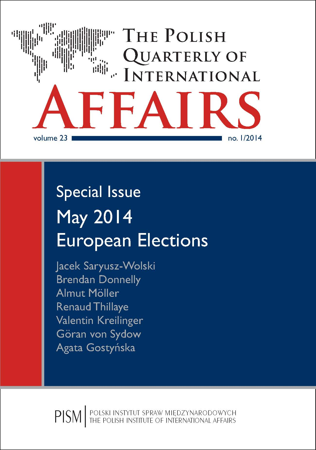 The Polish Quarterly of International Affairs Cover Image