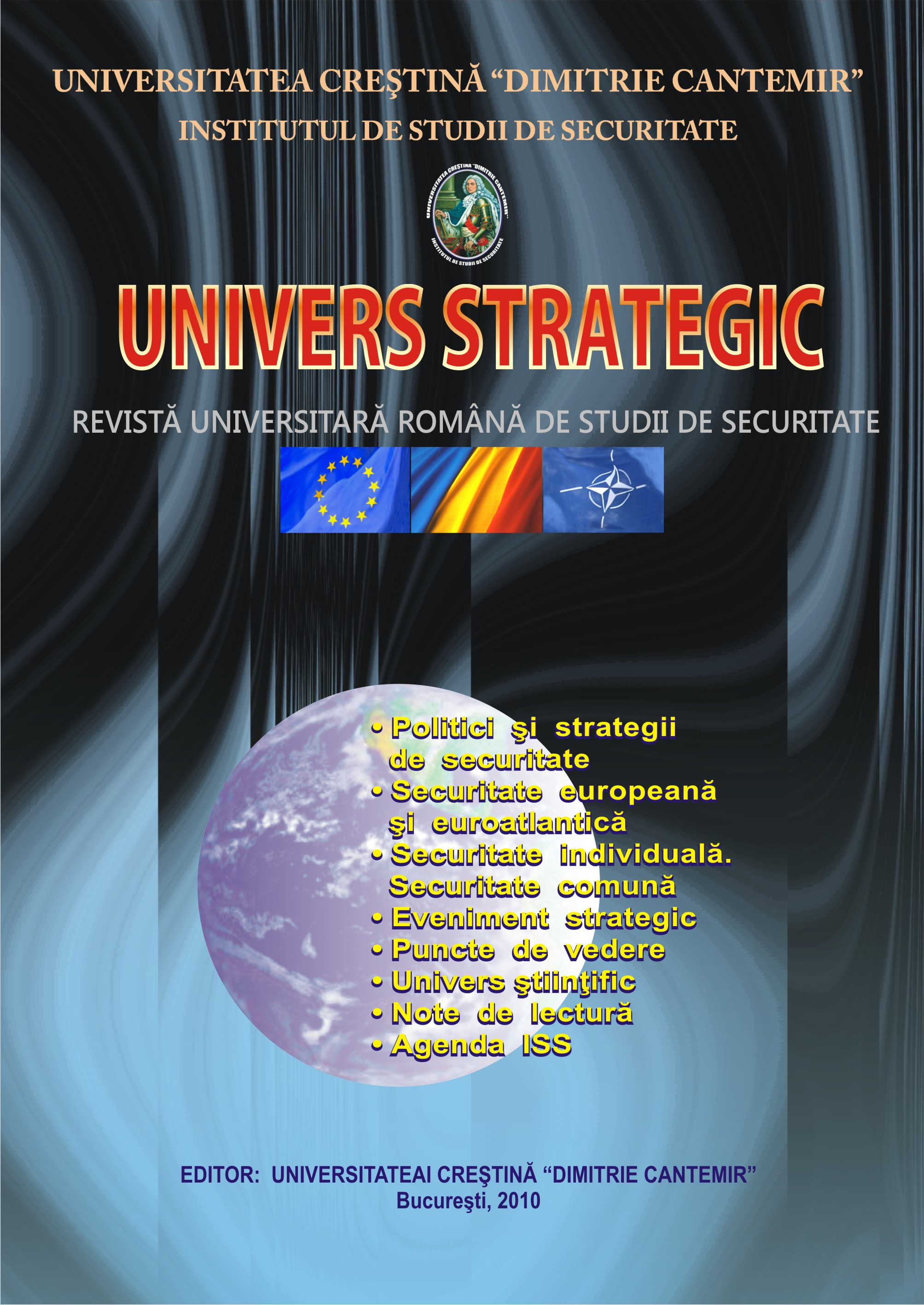 The Strategic Universe Journal Cover Image