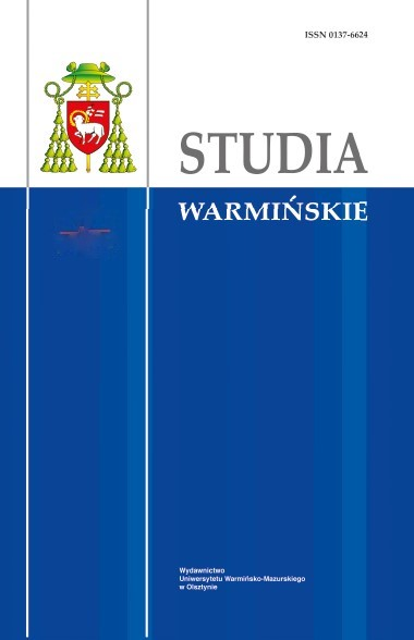The Studies of Warmia Cover Image