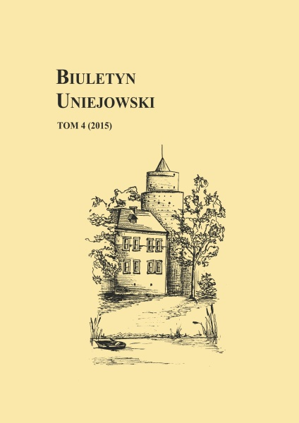 The Uniejów Bulletin Cover Image