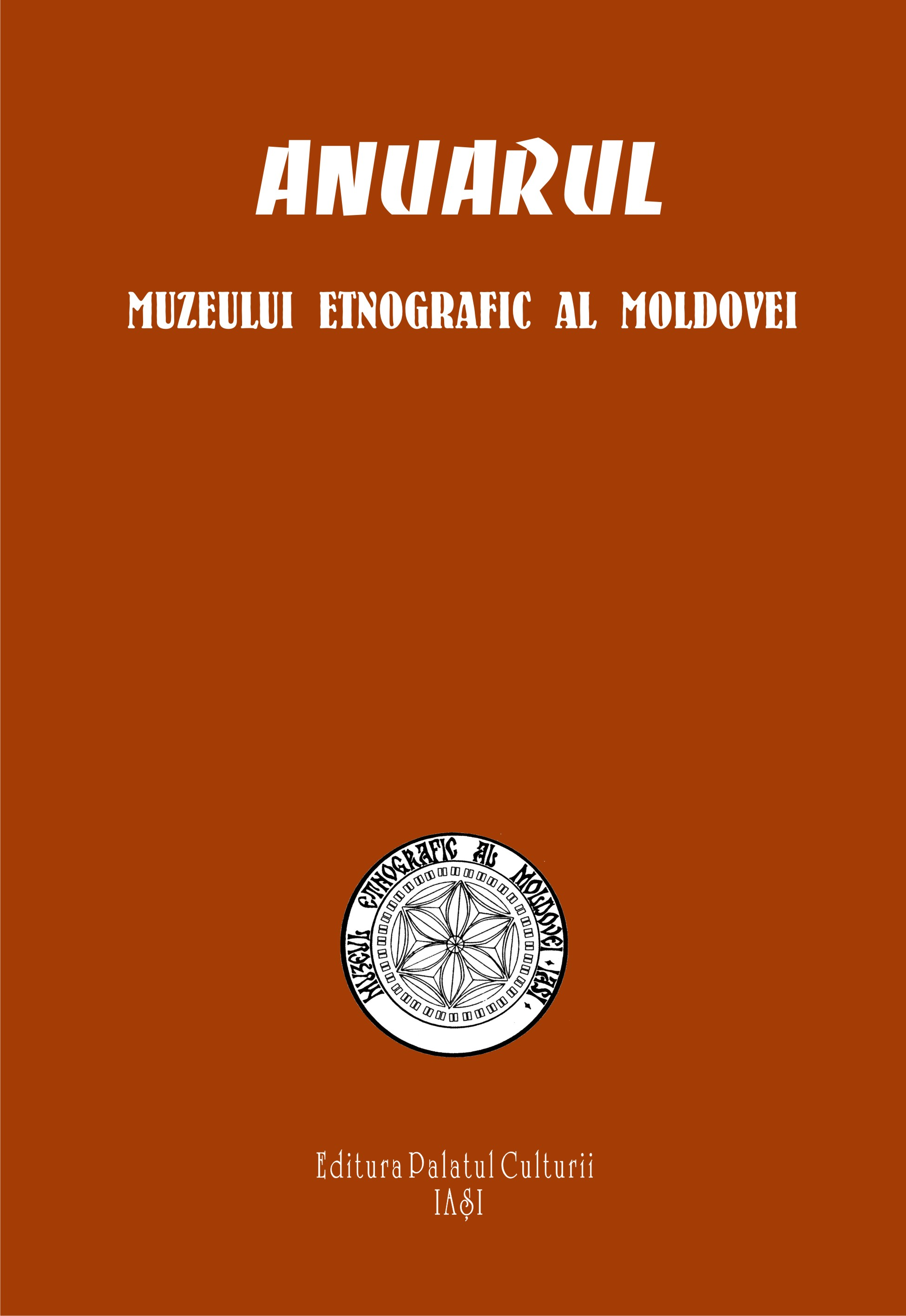 The Yearly Review of the Ethnographic Museum of Moldavia Cover Image