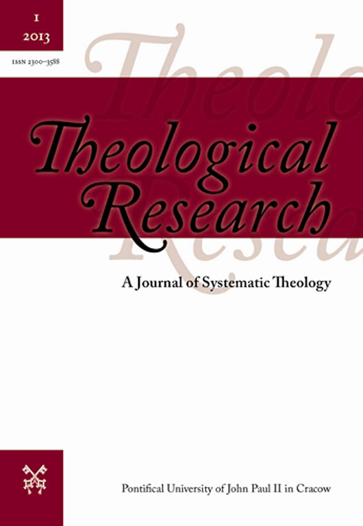 Theological Research Cover Image