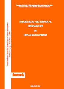 Theoretical and Empirical Researches in Urban Management