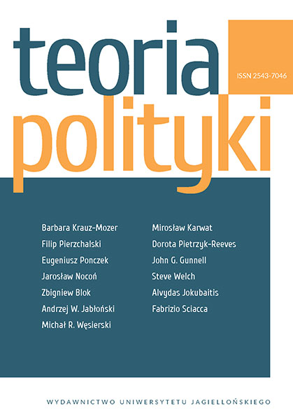 Theory of Politics Cover Image