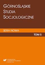 Upper Silesian Sociological Studies. New Series Cover Image