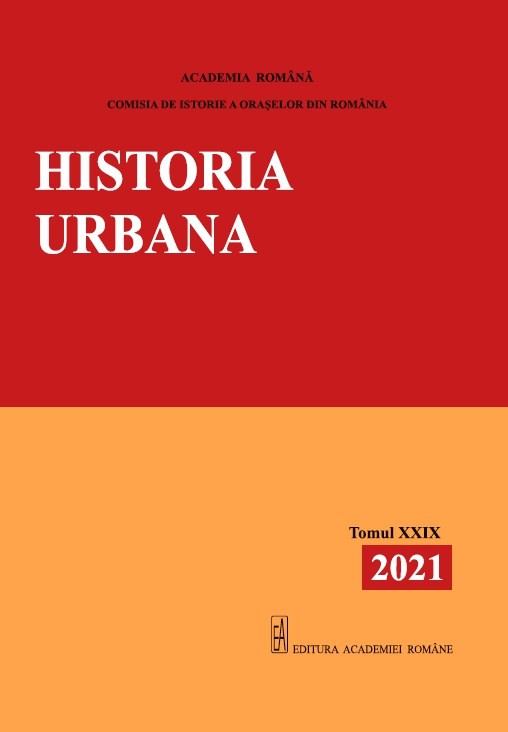 Urban History Cover Image