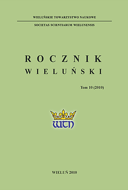 Wieluń Yearbook Cover Image