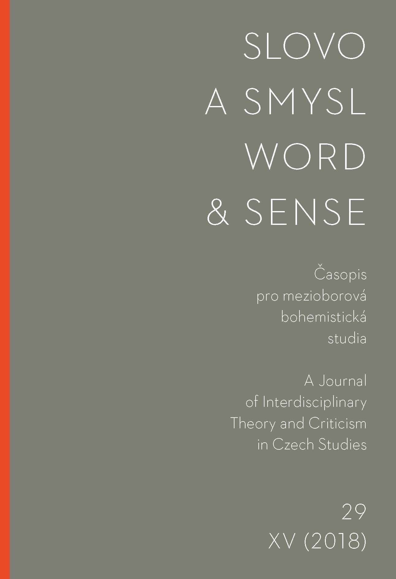 Word & Sense Cover Image
