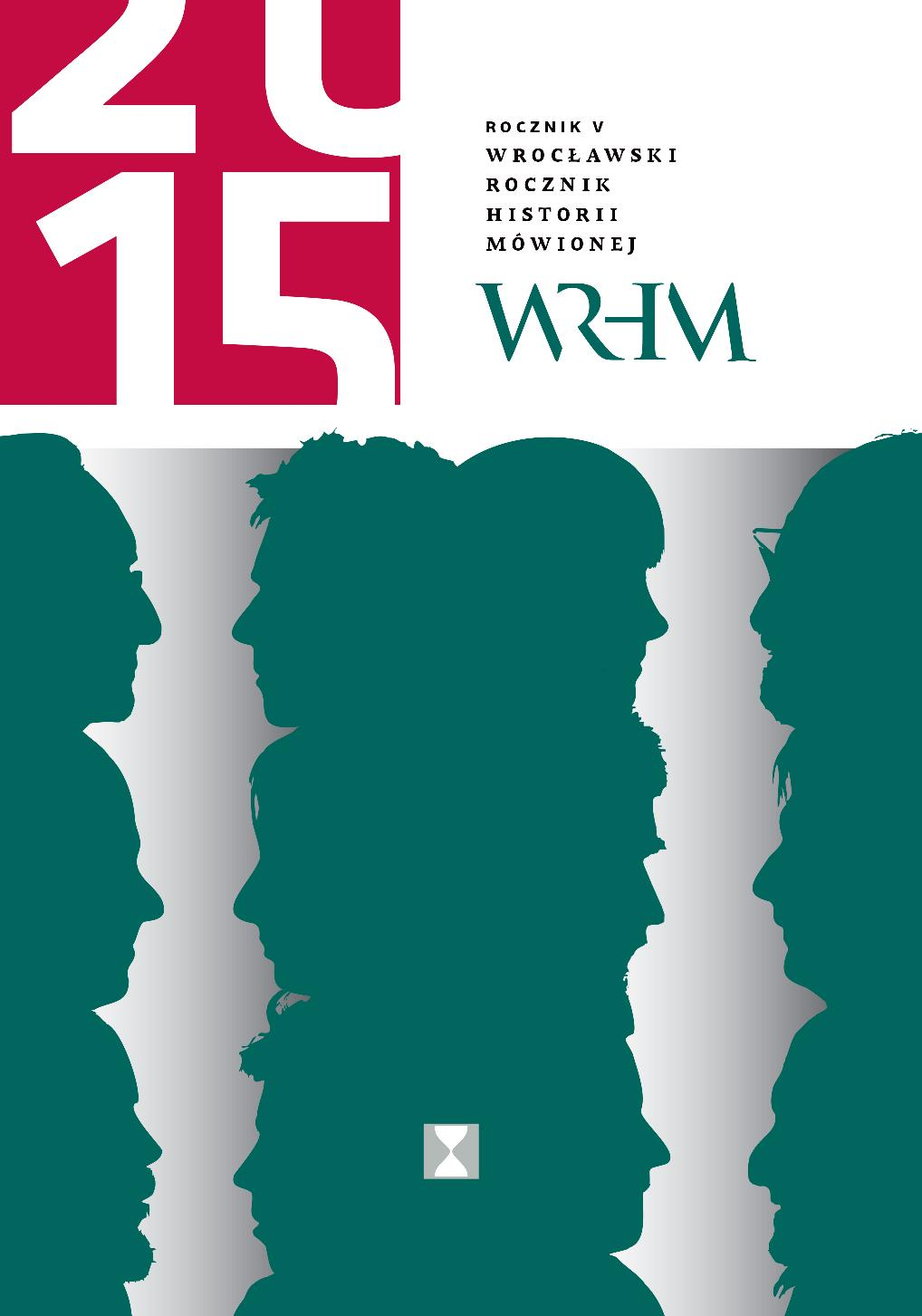 Wrocław Yearbook of Oral History Cover Image