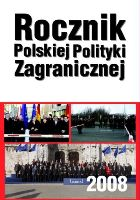 Yearbook of Polish Foreign Policy (Polish Edition) Cover Image