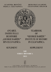Yearbook of the  Institute of History »George Bariţiu« - Series HISTORICA Cover Image