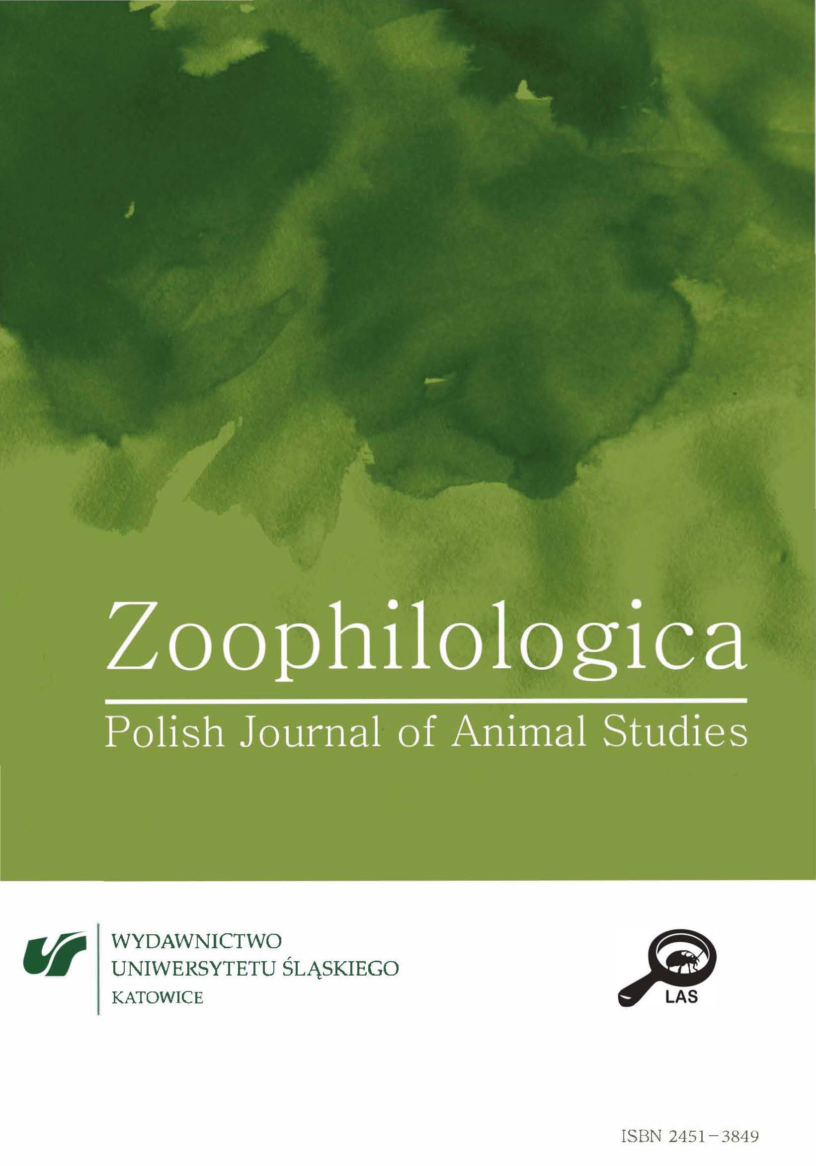 ZOOPHILOLOGICA. Polish Journal of Animal Studies Cover Image